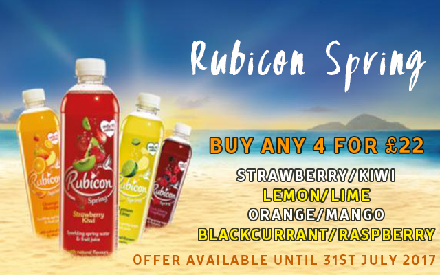 Rubicon- Buy 4 for £22